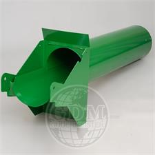 AH166954, , Filler tube GUDERMEISTER, for combines JOHN DEERE W650, WTS9640, WTS9660, WTS9680, STS9640, STS9660, STS9680