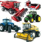 Agricultural machinery from Europe and the USA